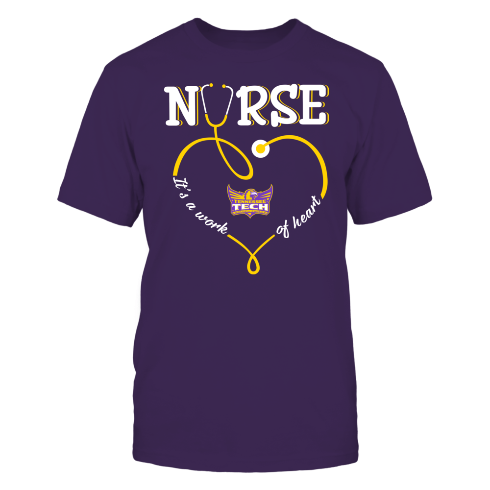 Tennessee Tech Golden Eagles - Nurse - Work of Heart Front picture
