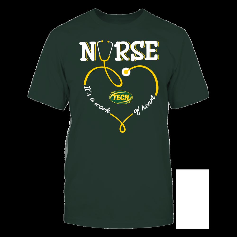 Arkansas Tech Golden Suns - Nurse - Work of Heart Front picture