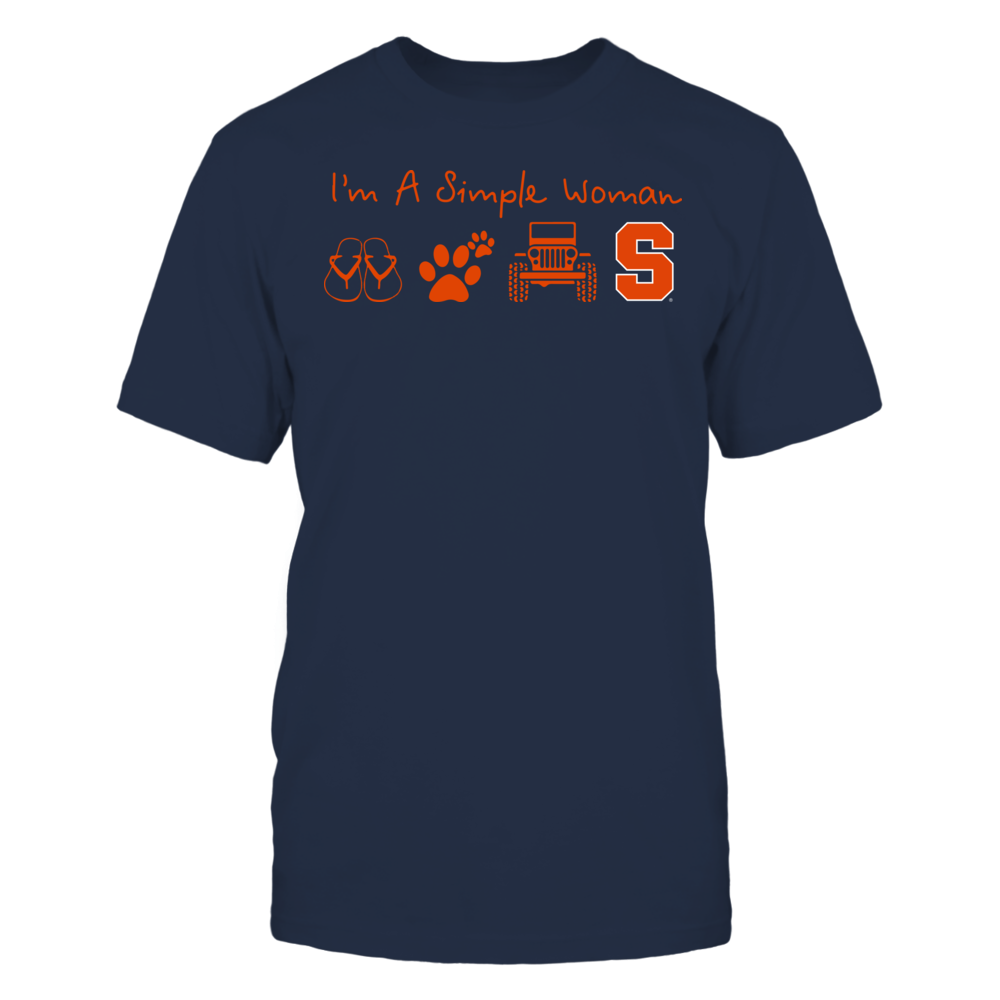 Syracuse Orange - Simple Woman - Team Front picture