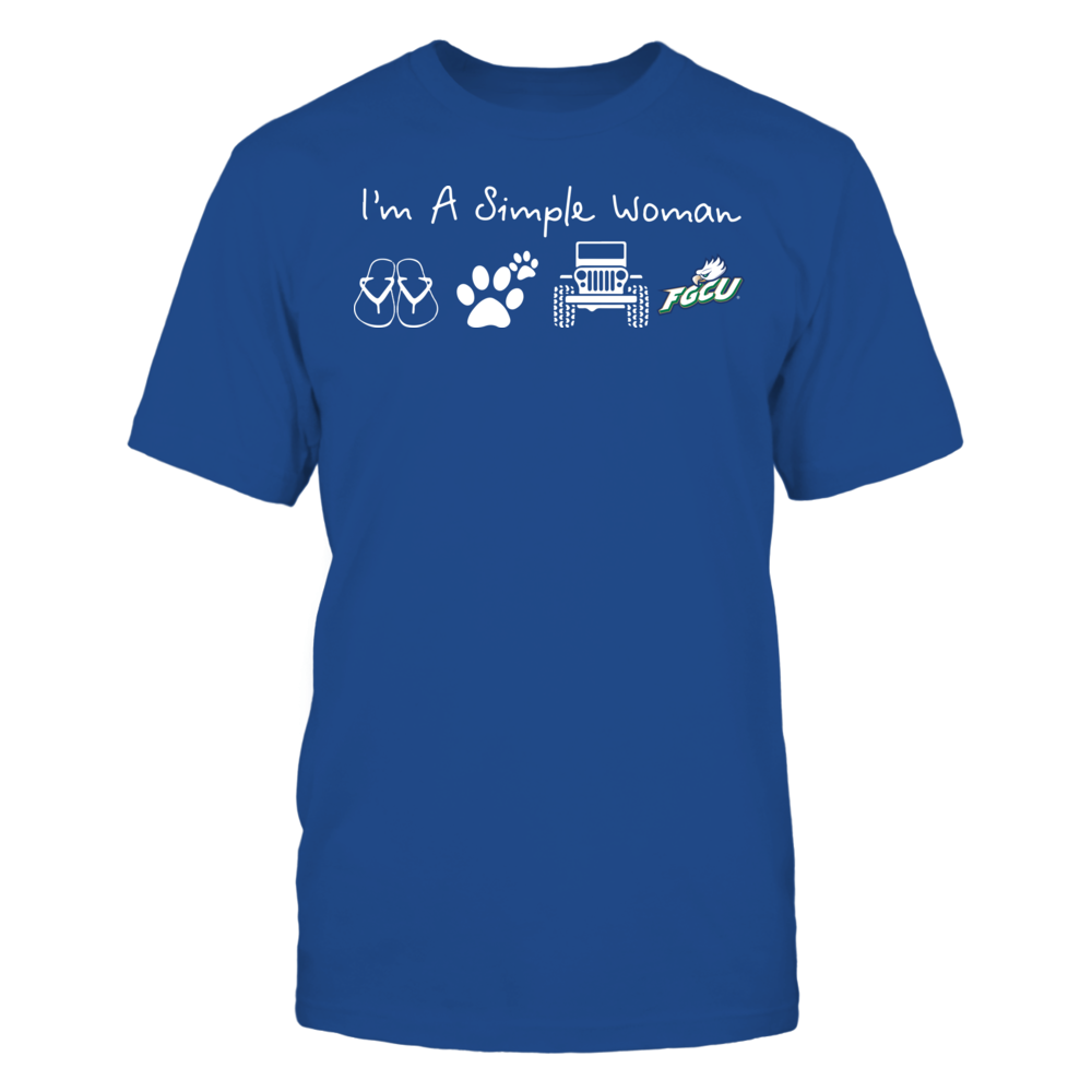 Florida Gulf Coast Eagles - Simple Woman - Team Front picture