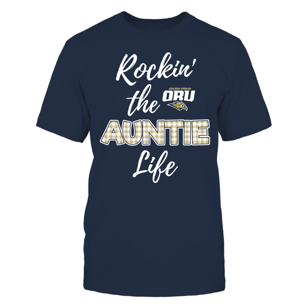 Oral Roberts Golden Eagles - Rockin the Auntie Life Front picture