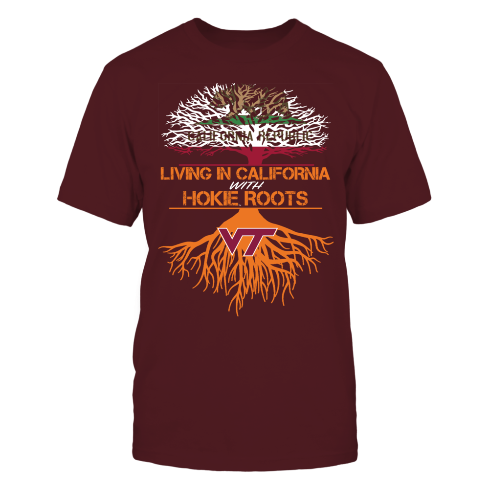 Virginia Tech Hokies - Living Roots California Front picture