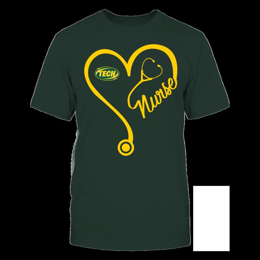 Arkansas Tech Golden Suns - Nurse Heart and Team Front picture