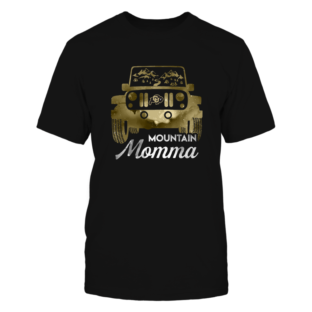 Colorado Buffaloes - Mountain Momma Jeep Car Front picture
