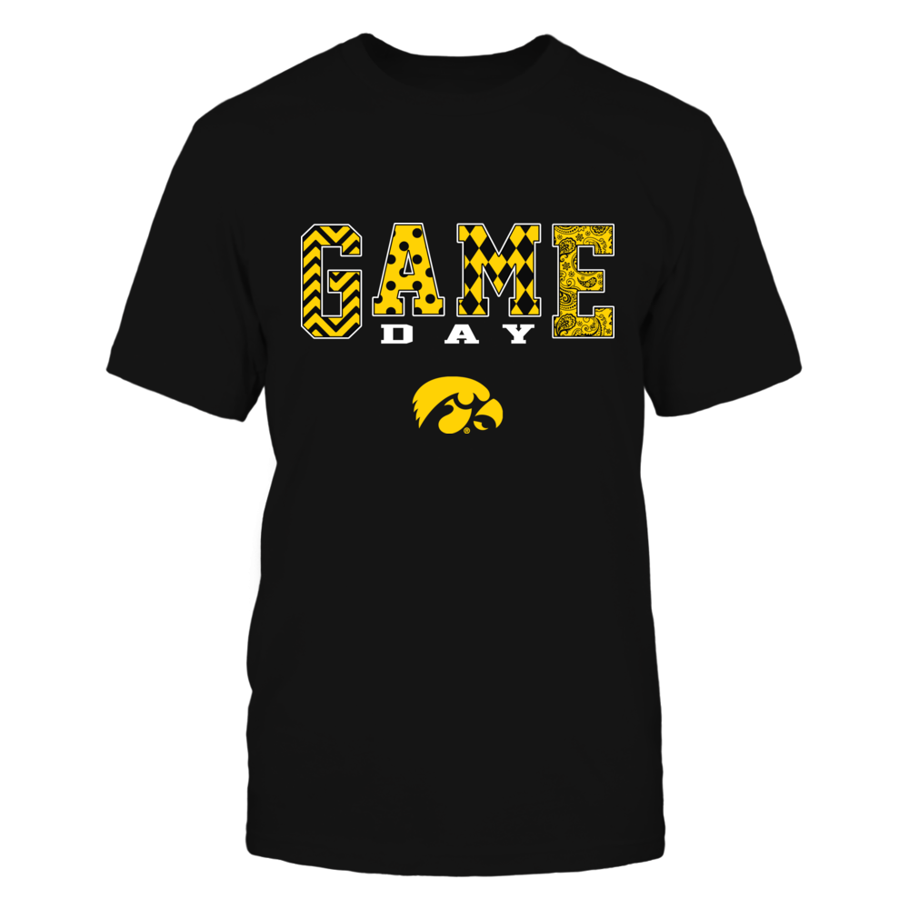 Iowa Hawkeyes - Game Day Pattern Front picture
