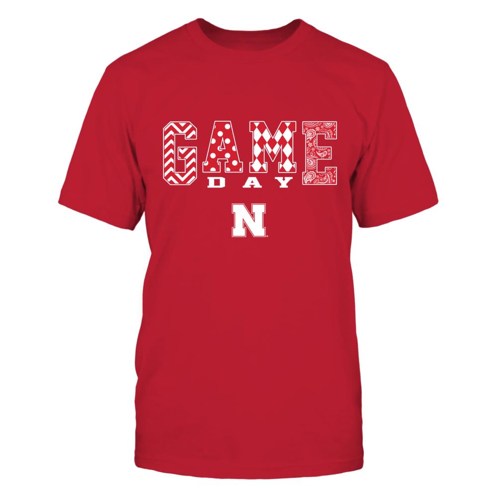 Nebraska Cornhuskers - Game Day Pattern Front picture