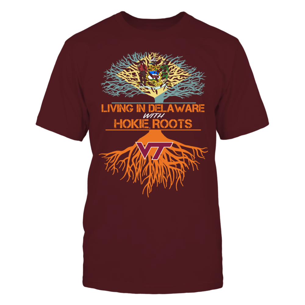 Virginia Tech Hokies - Living Roots Delaware Front picture