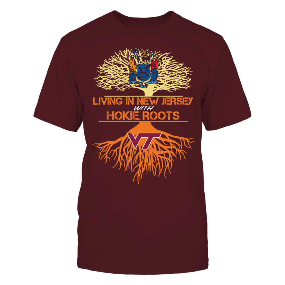Virginia Tech Hokies - Living Roots New Jersey Front picture