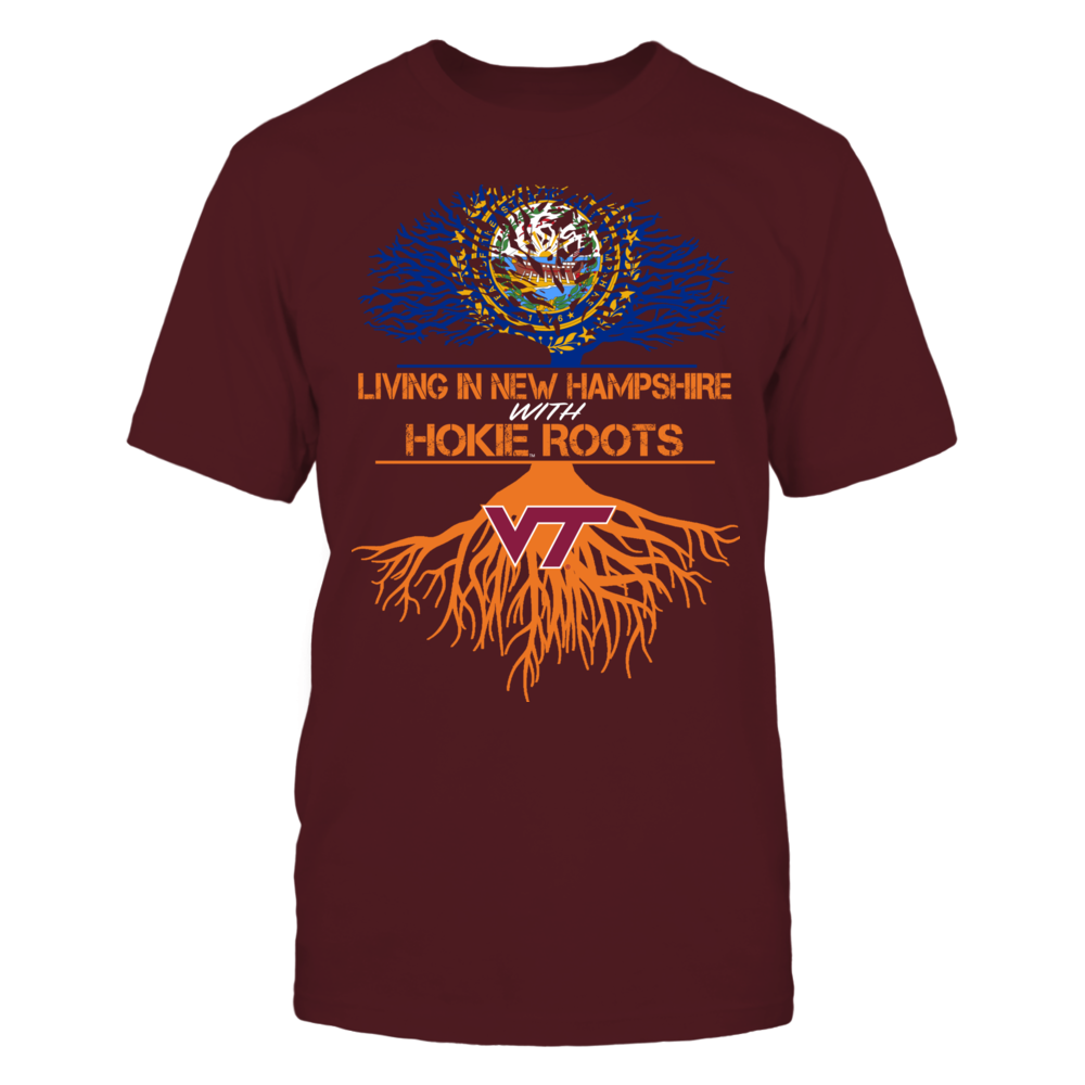 Virginia Tech Hokies - Living Roots New Hampshire Front picture