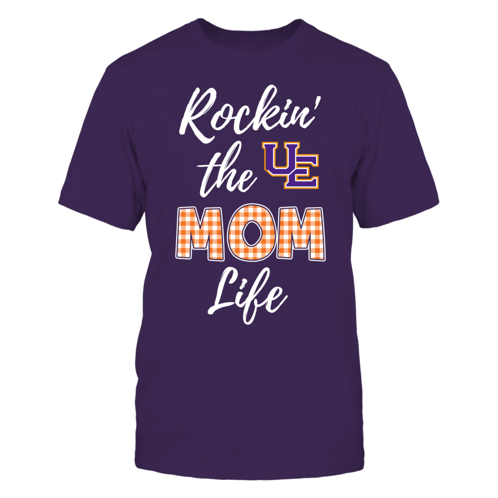 Evansville Purple Aces - Rockin the Mom Life Front picture
