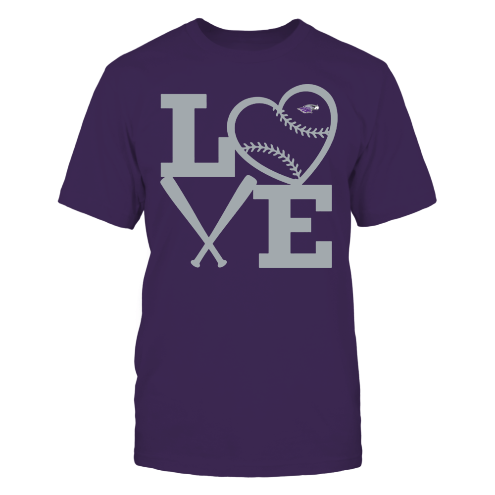 Wisconsin-Whitewater Warhawks - Love - Baseball - Heart Front picture