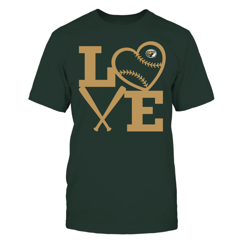Bemidji State Beavers - Love - Baseball - Heart Front picture