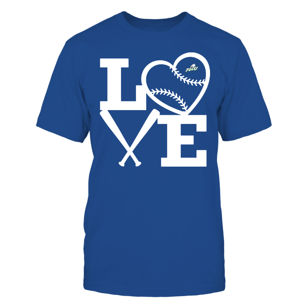 Florida Gulf Coast Eagles - Love - Baseball - Heart Front picture