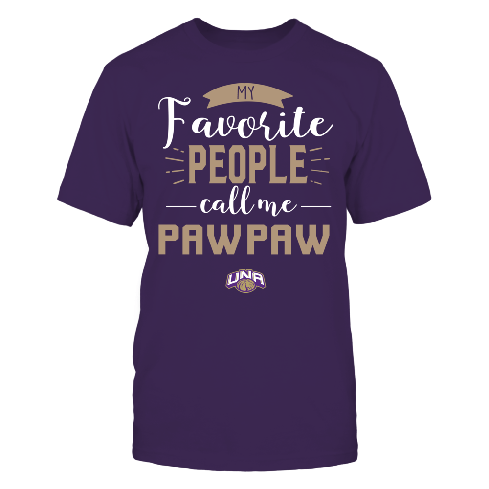 North Alabama Lions - My Favorite People Call Me - Pawpaw Front picture