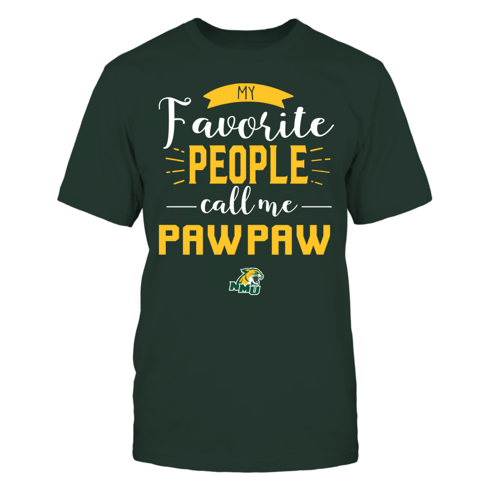 Northern Michigan Wildcats - My Favorite People Call Me - Pawpaw Front picture
