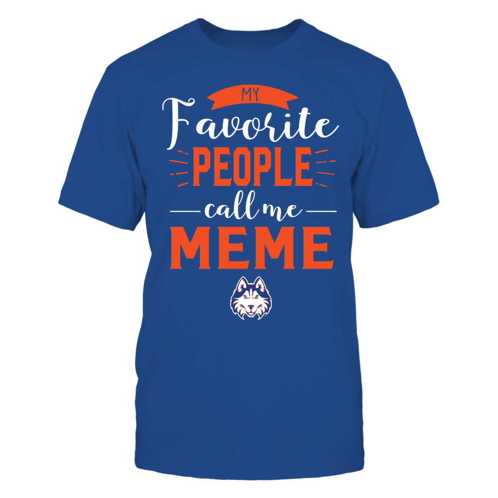 Houston Baptist Huskies - My Favorite People Call Me - Meme Front picture