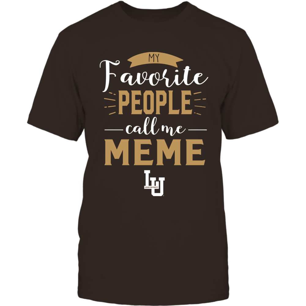 Lehigh Mountain Hawks - My Favorite People Call Me - Meme Front picture