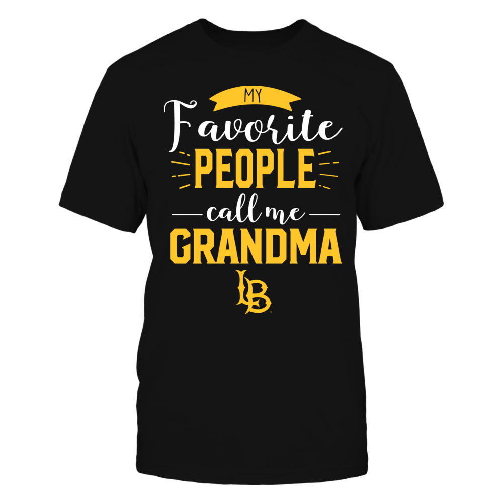 Long Beach State 49ers - My Favorite People Call Me - Grandma Front picture