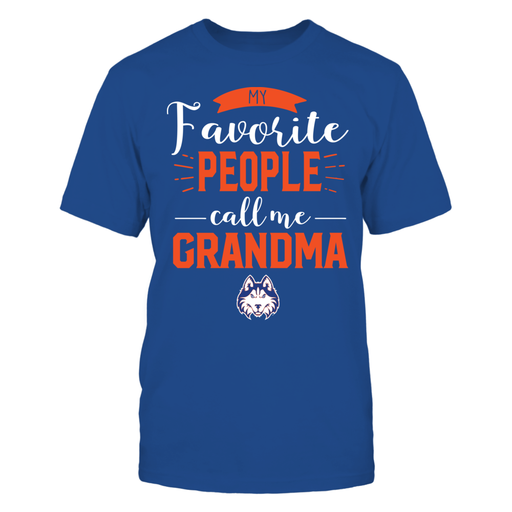 Houston Baptist Huskies - My Favorite People Call Me - Grandma Front picture