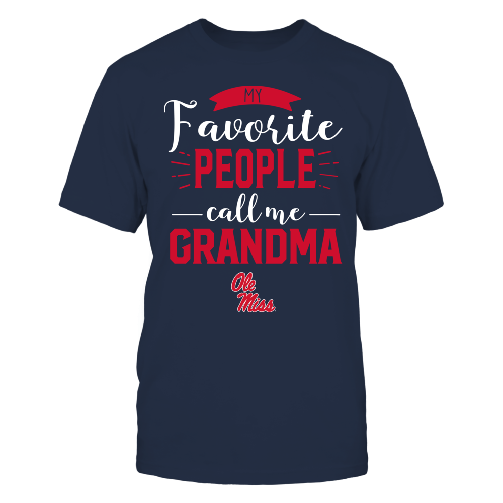 Ole Miss Rebels - My Favorite People Call Me - Grandma Front picture