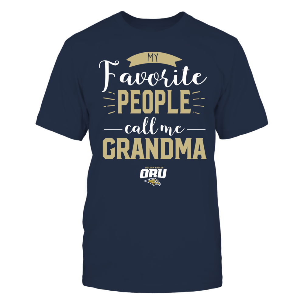Oral Roberts Golden Eagles - My Favorite People Call Me - Grandma Front picture
