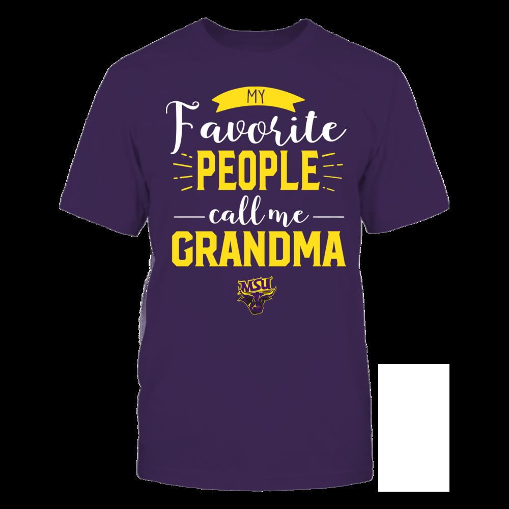 Minnesota State Mavericks - My Favorite People Call Me - Grandma Front picture