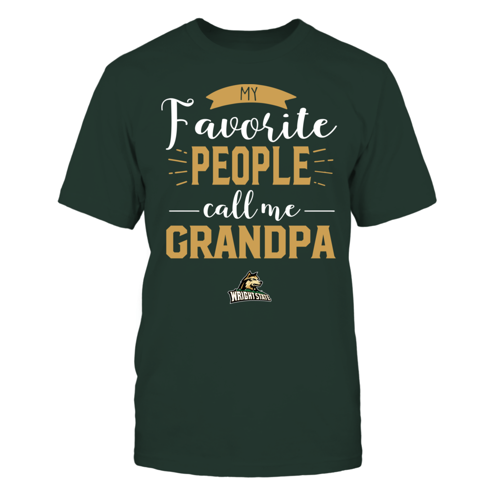 Wright State Raiders - My Favorite People Call Me - Grandpa Front picture
