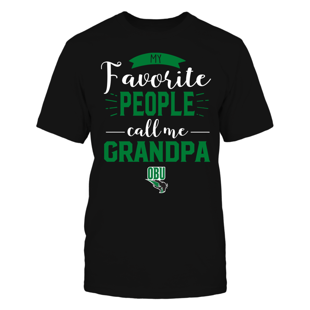 Oklahoma Baptist Bison - My Favorite People Call Me - Grandpa Front picture