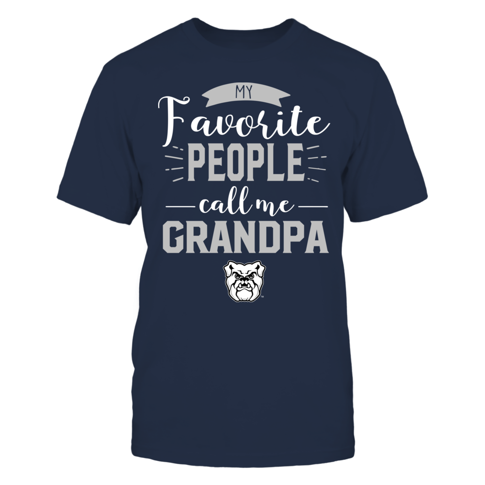 Butler Bulldogs - My Favorite People Call Me - Grandpa Front picture