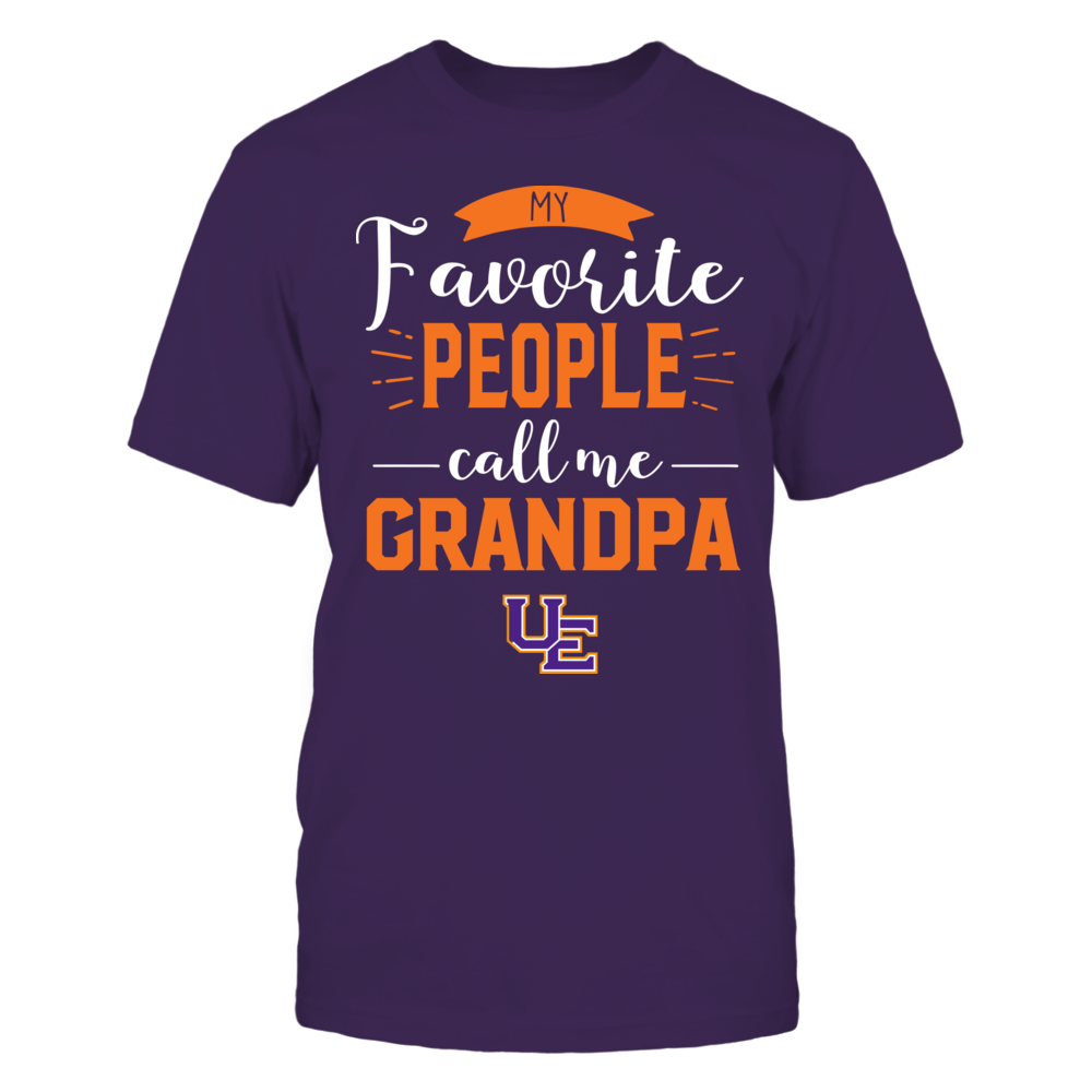 Evansville Purple Aces - My Favorite People Call Me - Grandpa Front picture