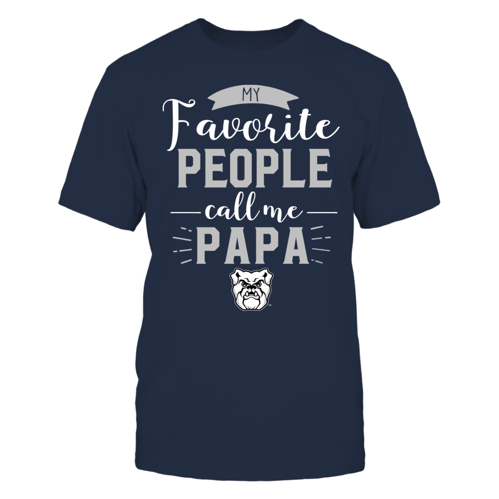 Butler Bulldogs - My Favorite People Call Me - Papa Front picture