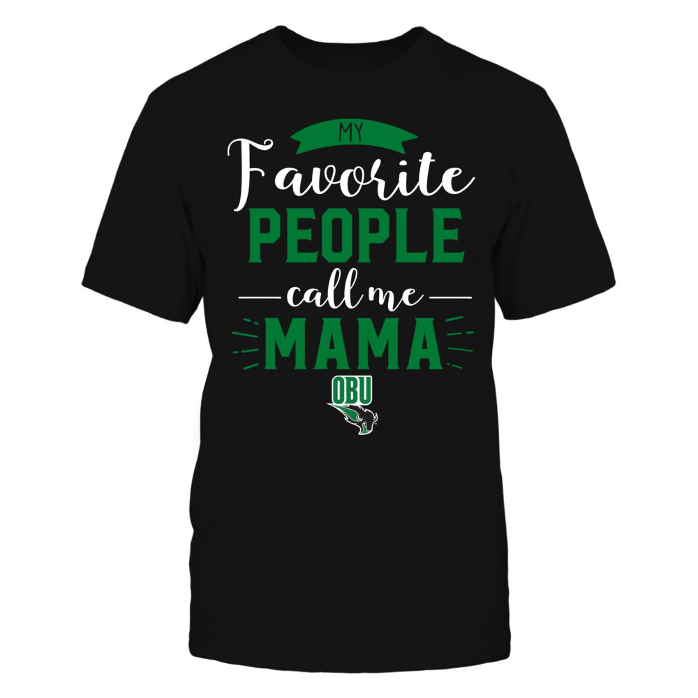 Oklahoma Baptist Bison - My Favorite People Call Me - Mama Front picture