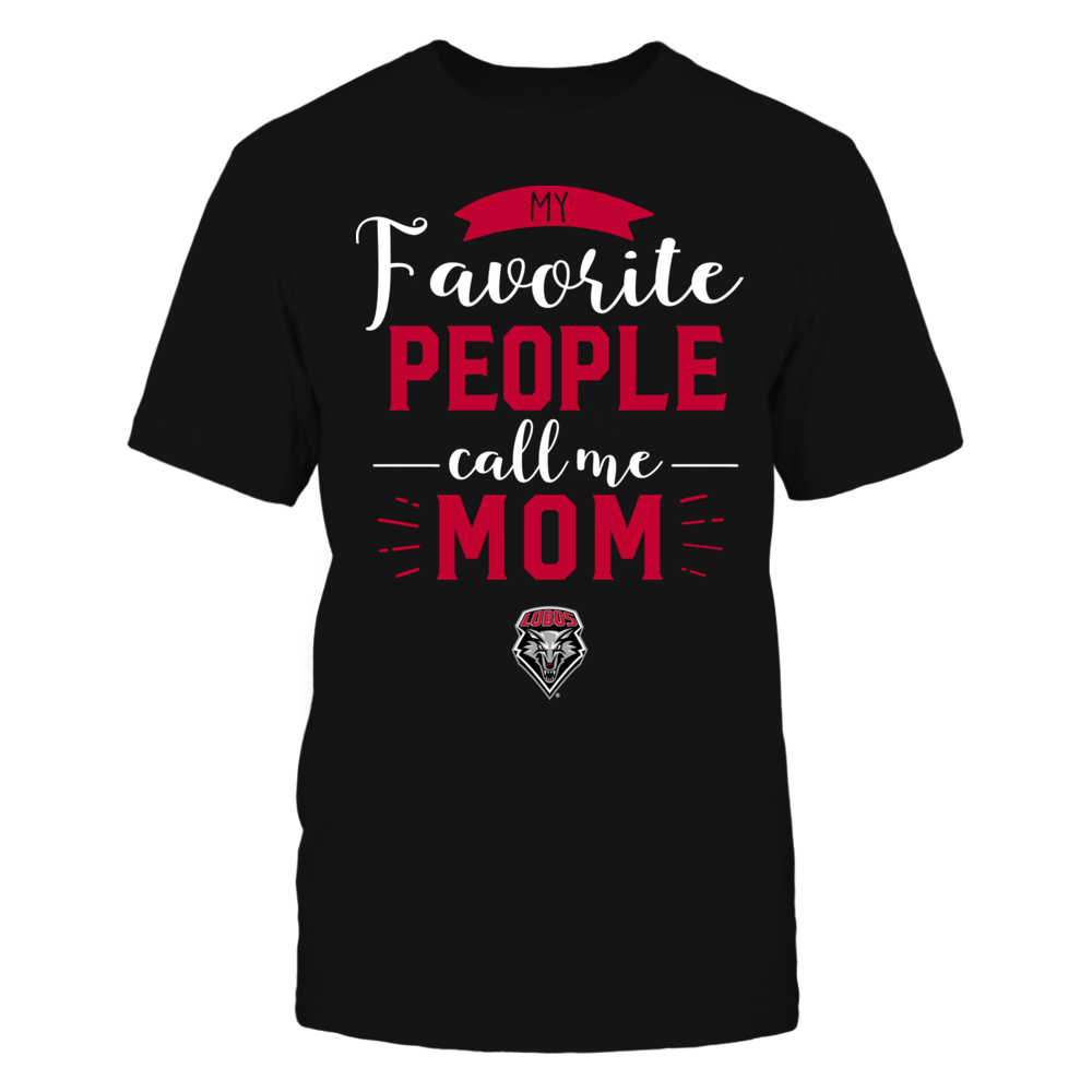 New Mexico Lobos - My Favorite People Call Me - Mom Front picture
