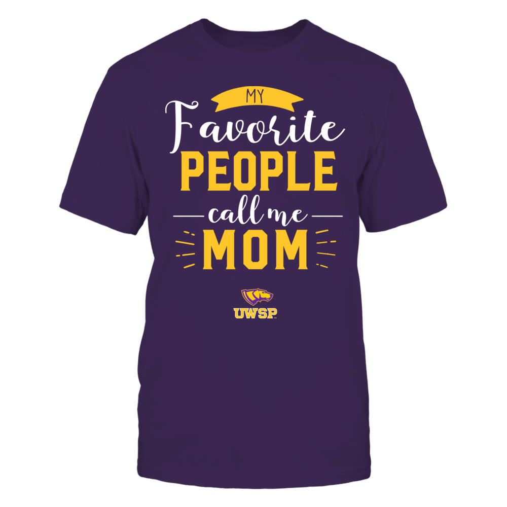 Wisconsin-Stevens Point Pointers - My Favorite People Call Me - Mom Front picture