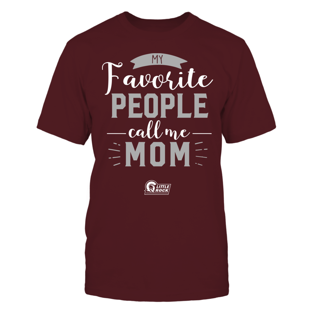 Arkansas Little Rock Trojans - My Favorite People Call Me - Mom Front picture