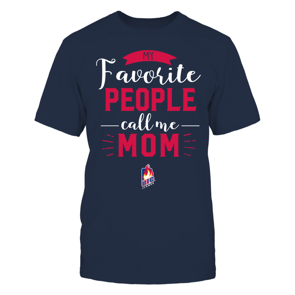 UIC Flames - My Favorite People Call Me - Mom Front picture