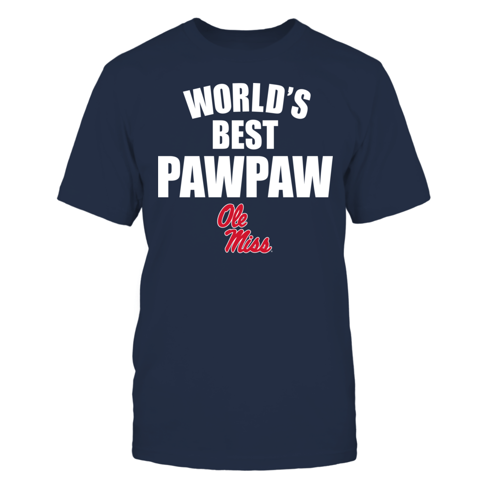 Ole Miss Rebels - World's Best Pawpaw - Bold Front picture