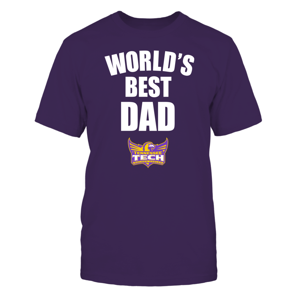 Tennessee Tech Golden Eagles - World's Best Dad - Bold Front picture
