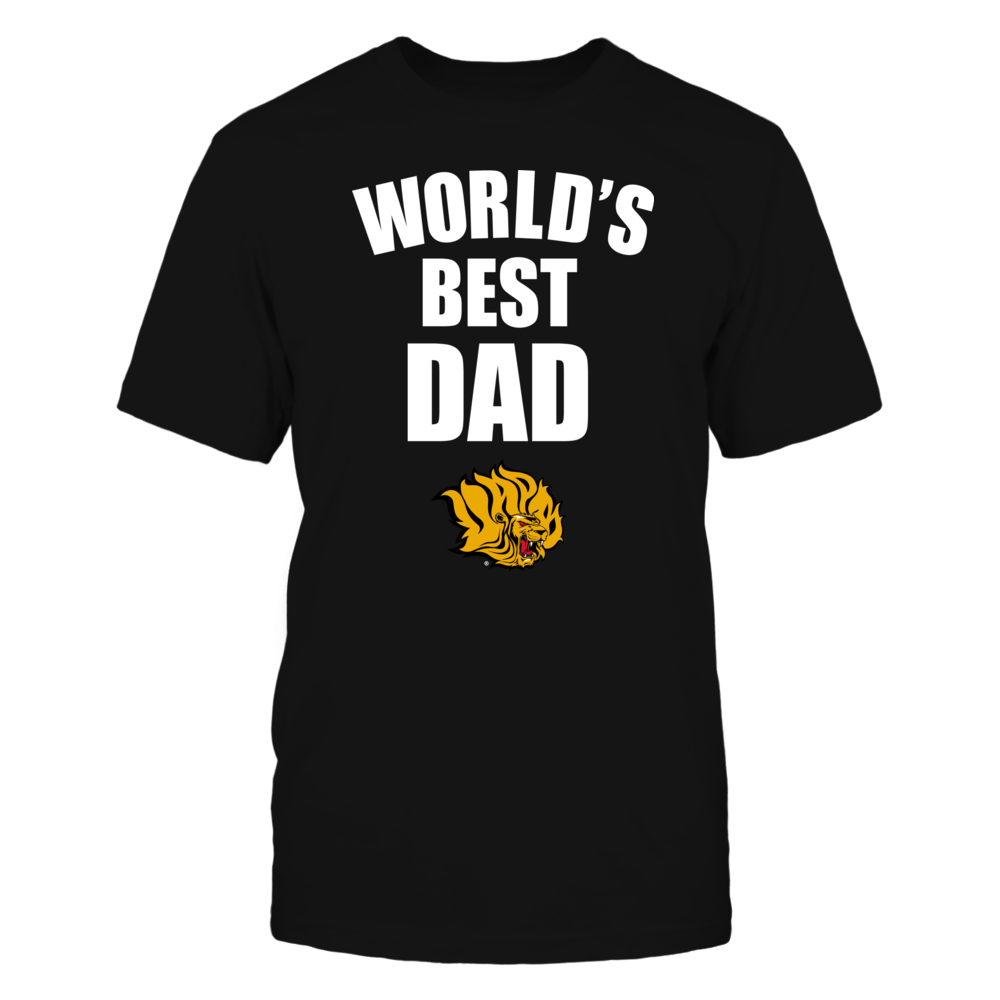 Arkansas Pine Bluff Golden Lions - World's Best Dad - Bold Front picture