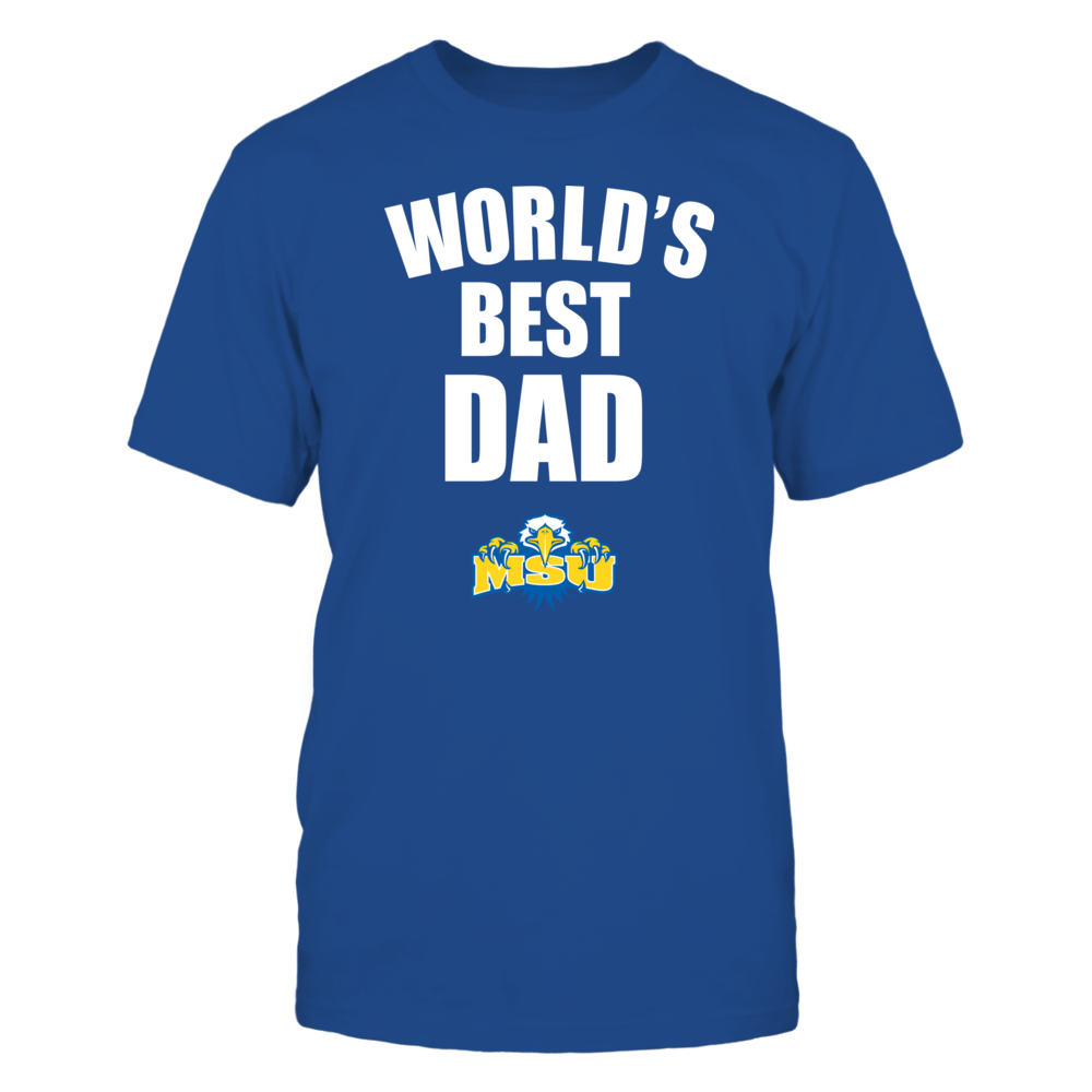 Morehead State Eagles - World's Best Dad - Bold Front picture