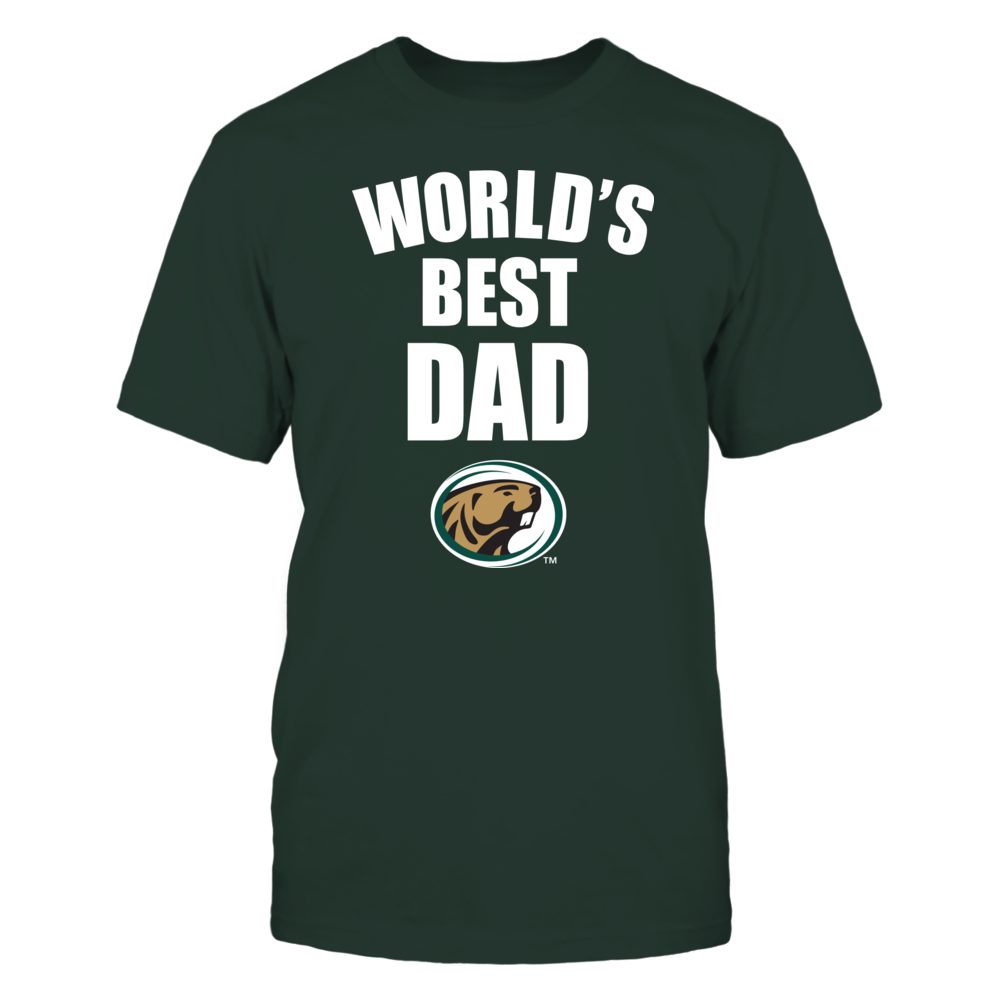 Bemidji State Beavers - World's Best Dad - Bold Front picture