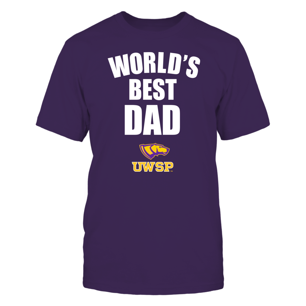 Wisconsin-Stevens Point Pointers - World's Best Dad - Bold Front picture