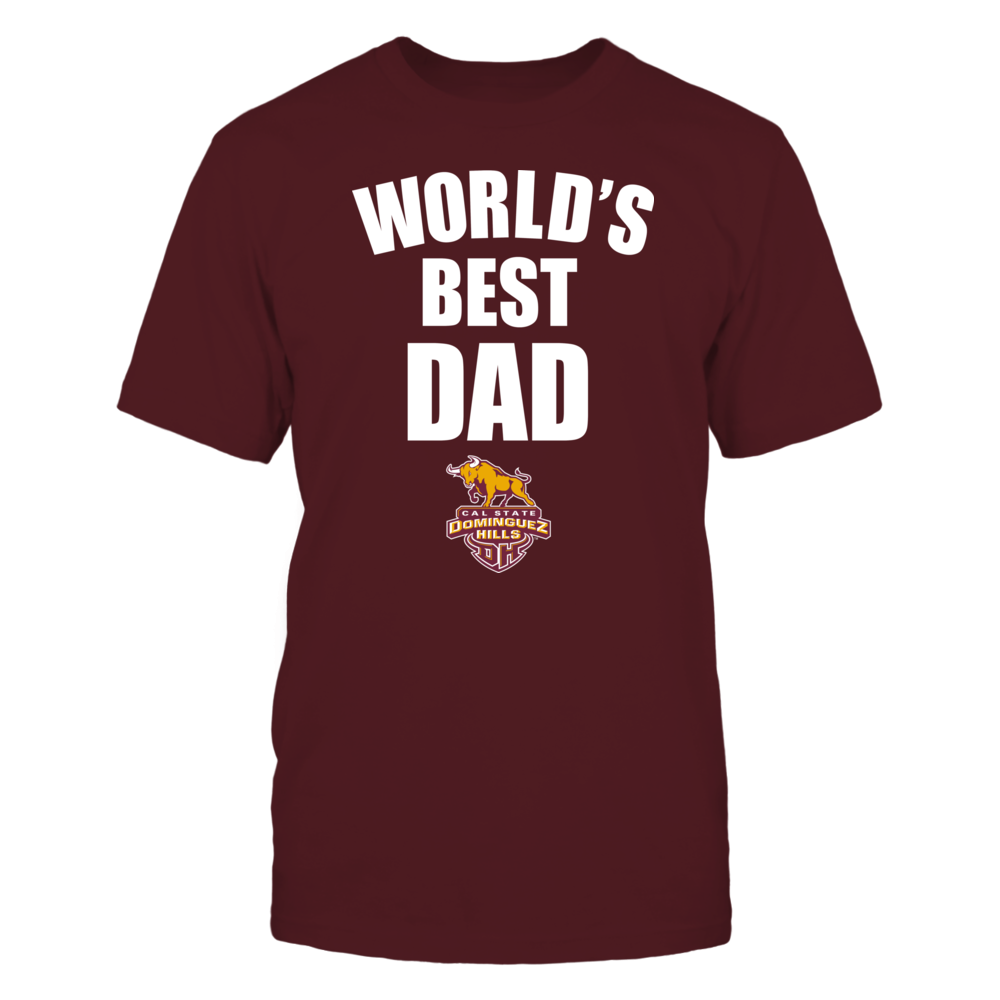 Cal State Dominguez Hills Toros - World's Best Dad - Bold Front picture