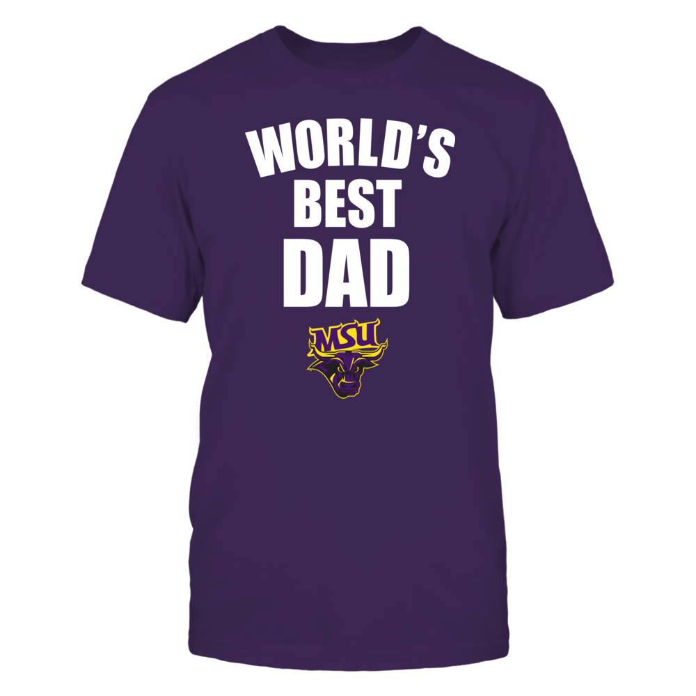 Minnesota State Mavericks - World's Best Dad - Bold Front picture