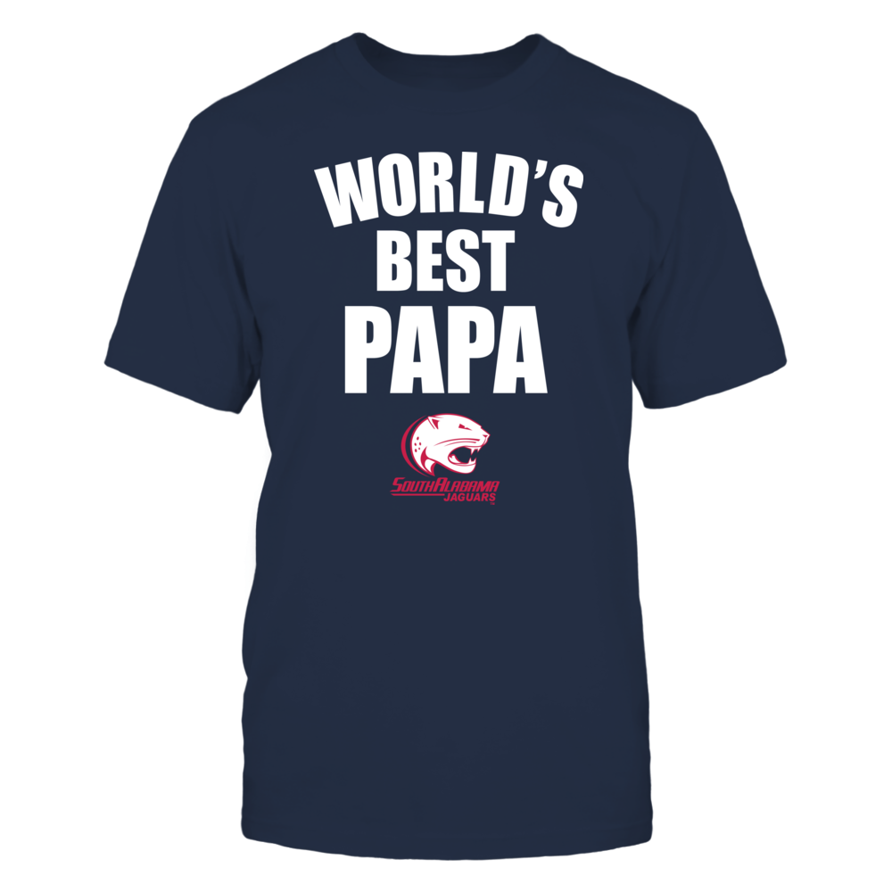 South Alabama Jaguars - World's Best Papa - Bold Front picture
