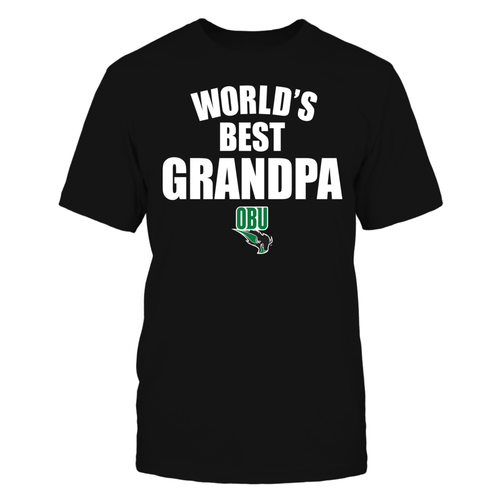 Oklahoma Baptist Bison - World's Best Grandpa - Bold Front picture