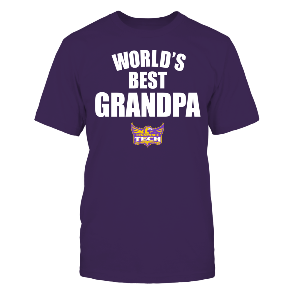 Tennessee Tech Golden Eagles - World's Best Grandpa - Bold Front picture