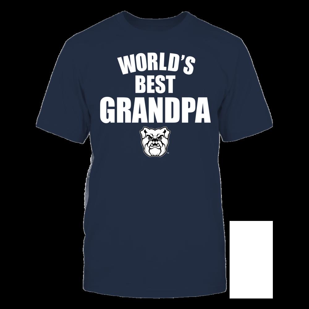 Butler Bulldogs - World's Best Grandpa - Bold Front picture