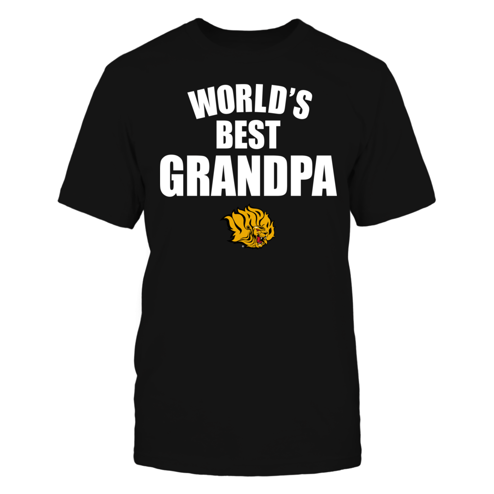 Arkansas Pine Bluff Golden Lions - World's Best Grandpa - Bold Front picture