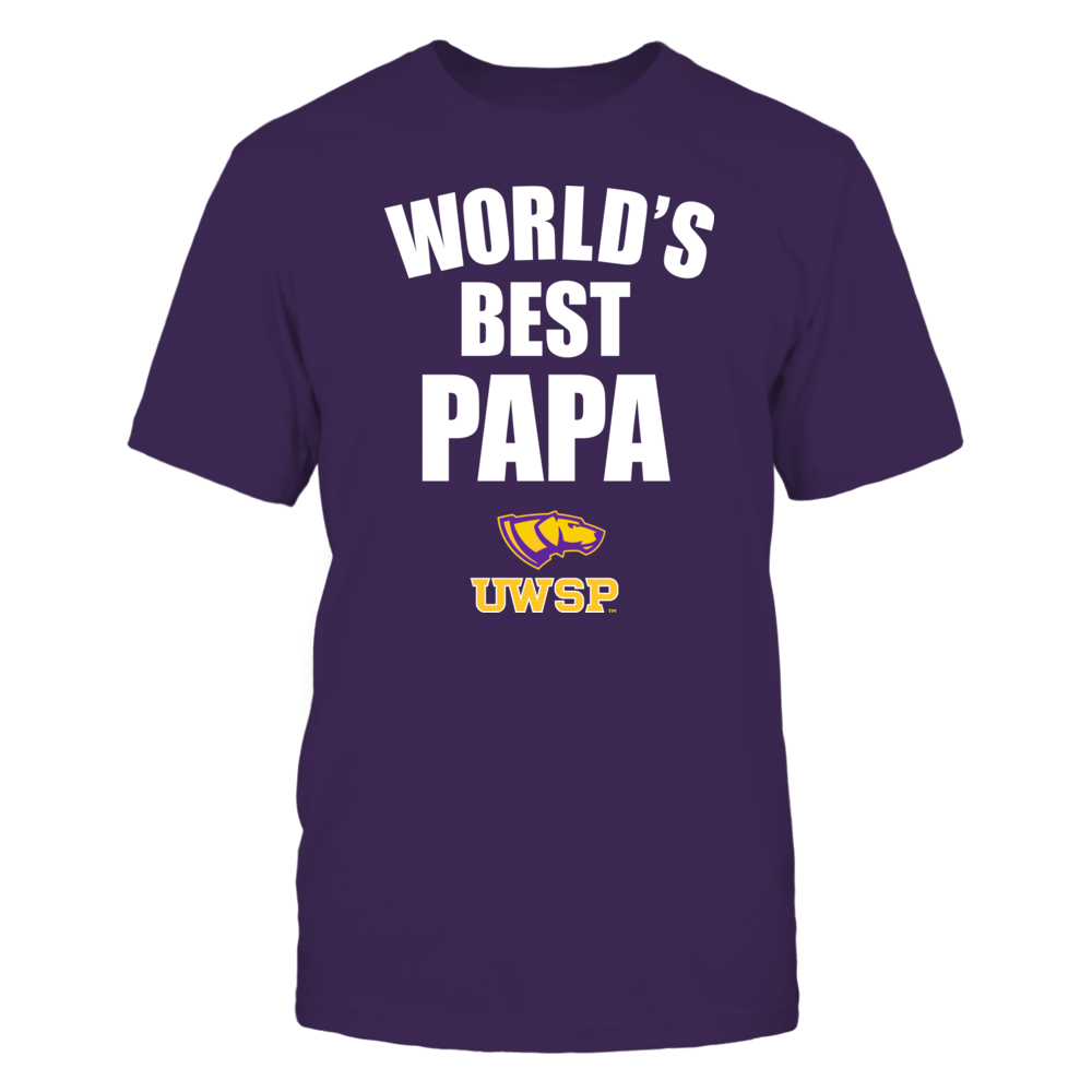 Wisconsin-Stevens Point Pointers - World's Best Papa - Bold Front picture